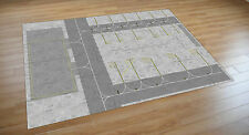 **NEW** 1/400 Model airport Apron/Foil/Mat/Regional 841mm x 1189mm.Boeing/Airbus