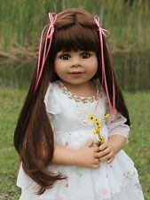 NWT Masterpiece Dolls-HBD Kate-RARE-Brunette/Blue Eyes By Monika Levenig