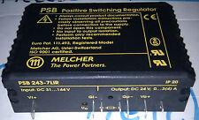 ALIMENTATION STABILISE 24V MELCHER  PSB 243-7lir  Switching Regulator