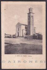 UDINE SAN VITO AL TORRE 04 Cartolina viaggiata 1921