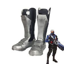 Overwatch Soldier 76 Cuish Boots Shoes Cosplay Props EVA