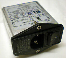 INTERPOWER 83511420 115/250V 10A 50/60HZ EMI FILTER POWER ENTRY MODULE ASSEMBLY