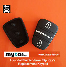 2 pcs Keypad for - Hyundai Verna Fluidic (2013 & below) Flip Keys  (b)