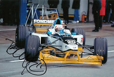 Tom Kristensen Hand Signed Formula 1 Photo 12x8.
