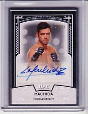 2016 Topps UFC Knockout LYOTO MACHIDA Silver Framed Auto 14/15 Museum Collection
