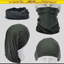 OD Green Army Multi Scarf Neck Mask Bandana Mask Cap Hat Heardwear Tubu AA155