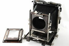 Ebony 45S Ti titan wood large format film camera 4×5 6×9 screen back (125440-N70
