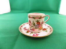 Aynsley Floral Coffee Can & Saucer