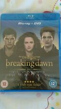 The Twilight Saga - Breaking Dawn - Part 2 (Blu-ray and DVD Combo) new sealed