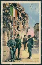 Imperia Ventimiglia Grimaldi GdF Guardia di Finanza Militari cartolina KF0107