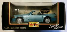 NEW Maisto Mercedes Benz 500 SL 1:24 Diecast Vehicle NIB NOS Rare Classic