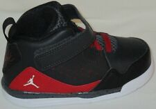 BOY'S NIKE JORDAN SC-3 BT WALKING BLACK/RED/WHITE LITTLE BOY SHOES SIZE 7C