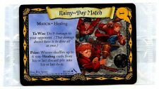 PROMO ENGLISH CARD HARRY POTTER N°  80/140 RAINY-DAY MATCH SEALED scellé