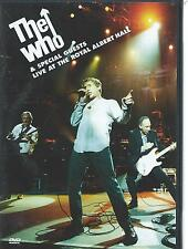 DOUBLE  / 2 DVD - THE WHO - LIVE at the ROYAL ALBERT HALL