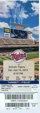 2013 Twins vs Tigers Ticket: Trevor Plouffe homers, has 3 hits