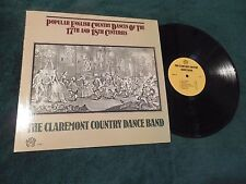 Claremont Country Dance Band Popular English Dances of 17th & 18th Centuries NM