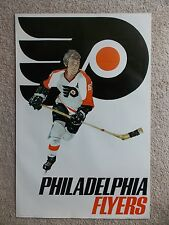 Vintage NHL Philadelphia Flyers Sportsgraphics poster from 1973