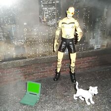 DC DIRECT COLLECTIBLES TRANSMETROPOLITAN SPIDER JERUSALEM FIGURE W/ CAT & LAPTOP