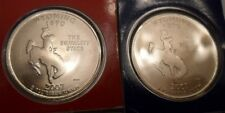 2007 P & D Wyoming Quarter Set (2 Coins) *MINT CELLO*  **FREE SHIPPING**