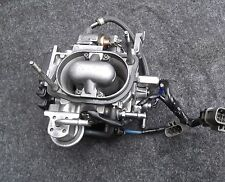 86 NISSAN D21 PICKUP 2.4L Z24 THROTTLE BODY ASSEMBLY TBI COMPLETE