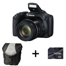 Canon PowerShot SX520 HS Digital Camera + Case and 16GB Memory Card