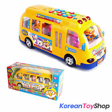 PORORO Educational Big School Bus Toy Theme Children Songs Voice English Korean