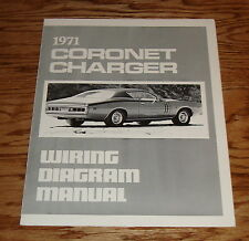 1971 Dodge Coronet Charger Wiring Diagram Manual 71