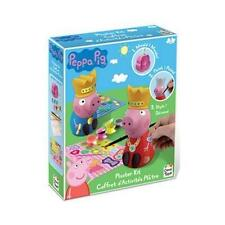 Peppa Pig PEPC008 Plaster Kit Peppa & George Moulds with Plaster Included New