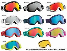 NEW Electric EGV mirror ski snowboard goggles +xtr lens pick color 2014 Msrp$120