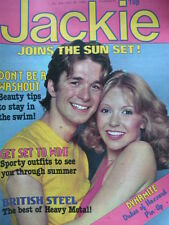 JACKIE MAGAZINE 28TH JUNE 1980 - INCLUDES DUKES OF HAZARD POSTER