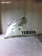 YAMAHA YZF R1 98 - 99 LH BELLY PAN GENUINE OEM SCRATCHED NO CRACKS 10Y1671