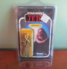 Vtg STAR WARS Kenner BIB FORTUNA ROTJ 65A Card Back Unpunched MOC Return Jedi