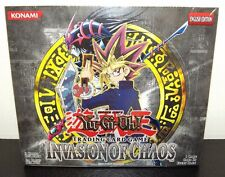 Invasion of Chaos Yugioh English Unlimited Edition Booster Box BRAND NEW SEALED