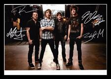 ALL TIME LOW AUTOGRAPHED SIGNED & FRAMED PP POSTER PHOTO