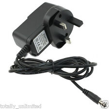 Argos Bush 9 Inch Portable Widescreen DVD Player 9V Mains AC Adaptor Charger
