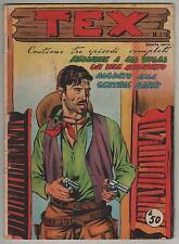TEX ALBO D'ORO quindicinale edizioni audace IV quarta serie N.20 1957 albi 4a
