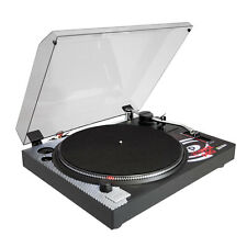 NEW Pyle PLTTB1 Professional Belt-Drive Turntable Cartridge & Stylus Included