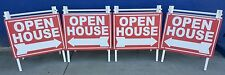EZPZ Real Estate Open House Sign A-Frame Kit (Pack of 4) by EZee Post