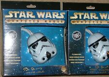 Star Wars Stormtrooper Figural PC Mouse Mint In Autographed Box #1