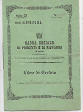 R31-CASSA SOCIALE DI PRESTITI E RISPARMI DI MILANO 1864