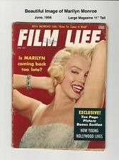 FILM LIFE - BEAUTIFUL MARILYN MONROE COVER and PICS! - 1956 - SCARCE