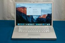 "Apple Macbook Pro 15"" inch 2.2GHz Core 2 Duo 160GB HDD, 2GB RAM A1226 El Capitan"