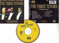"The THREE TENORS "" Volume four "" (CD) Carrera, Domingo"