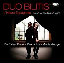 Duo Bilitis (Harp duo) : LHeure Espagnole: Music for harp duo  & voice CD (2011)
