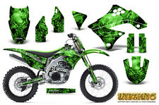 KAWASAKI KXF450 KX450F 09-11 GRAPHICS KIT CREATORX DECALS INFERNO GNP
