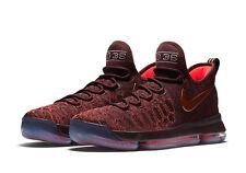 Brand New Mens Nike Zoom KD9 XMAS 852409-696 Deep Burgundy Size 13