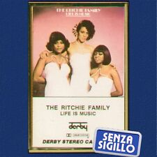 "THE RITCHIE FAMILY LIFE IS MUSIC""MUSICASSETTA NUOVA DERBY 40DBR 81851 1977-"