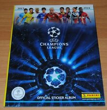 ALBUM FIGURINE CALCIATORI PANINI CHAMPIONS LEAGUE 2013 2014 vuoto 6 fig edicola