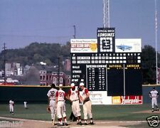CROSLEY FIELD CINCINNATI REDS VS YANKEES 1961 WORLD SERIES 8X10 COLOR PHOTO