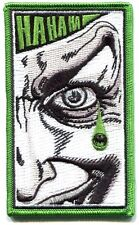THE JOKER teardrop EMBROIDERED IRON-ON PATCH Free Shipping pdc71 batman dc comic